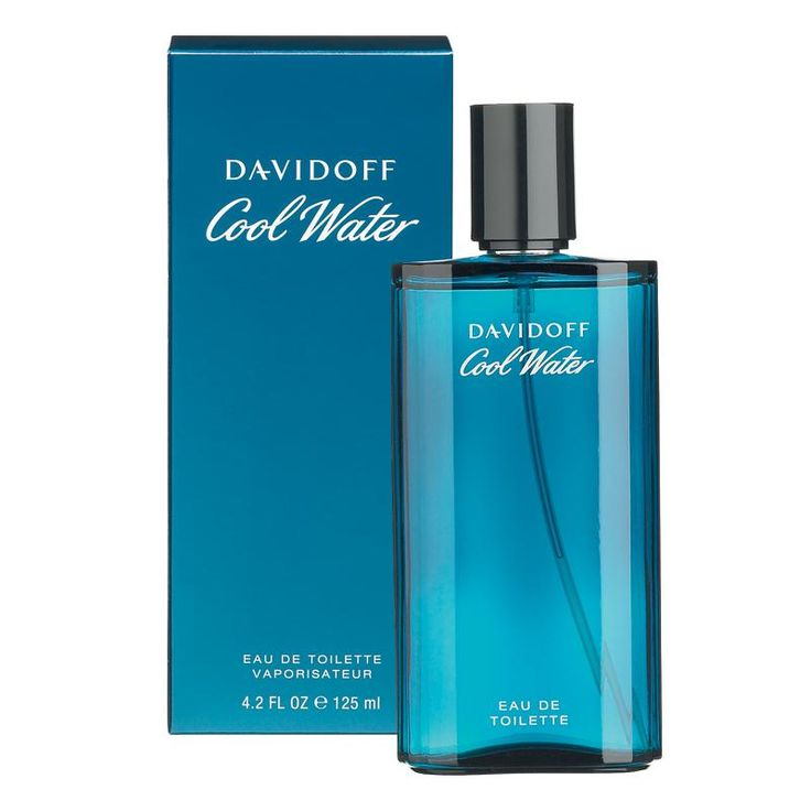 COOL WATER FOR MEN DavidOff 125 ML $110.000