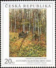 Antonín Slavíček: Podzim ve Veltrusích