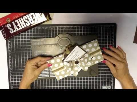 Christmas Fudge Envelope Punch Board Wrapper - RemARKable Creations