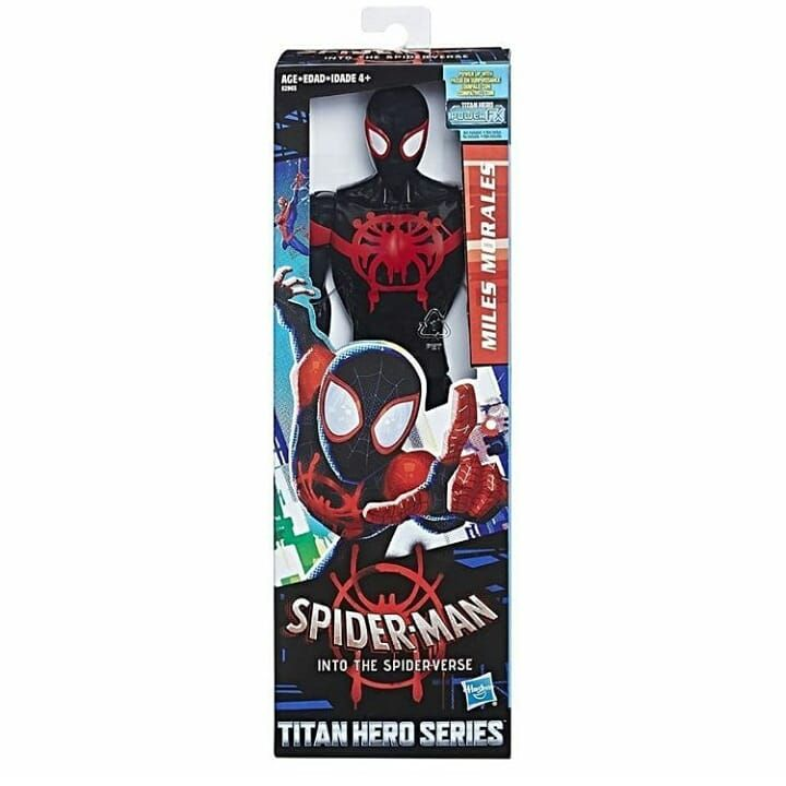 Spider-Man into the Spider-verse Super Collider Playset Miles Morales Figure