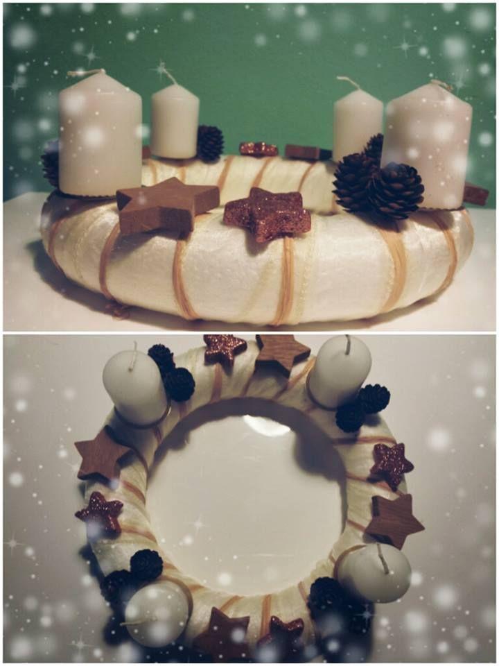 "Adventní věnec ""Příroda"" (Advent wreath ""Nature"")"