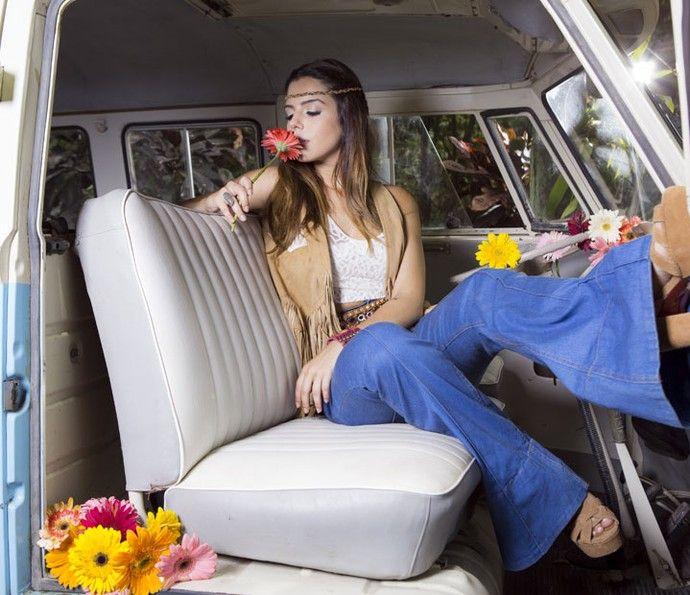 Simpatia à flor da pele: a atriz diz que faz amizades em um minuto (Foto: Ellen Soares/ Gshow)