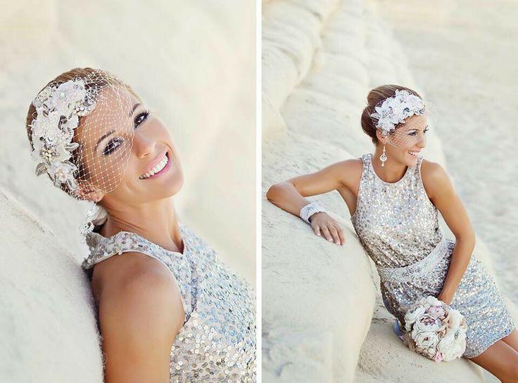 Beautiful bridal headpiece