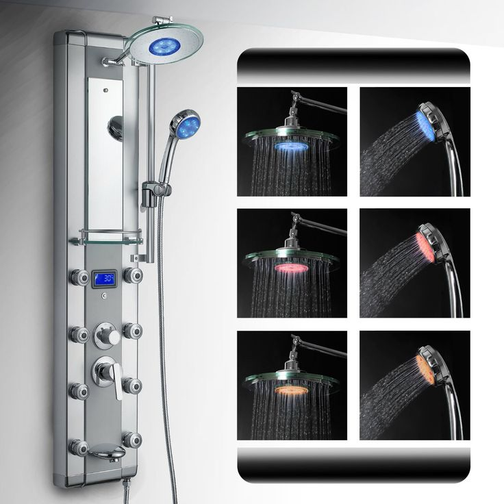 best led shower panel review