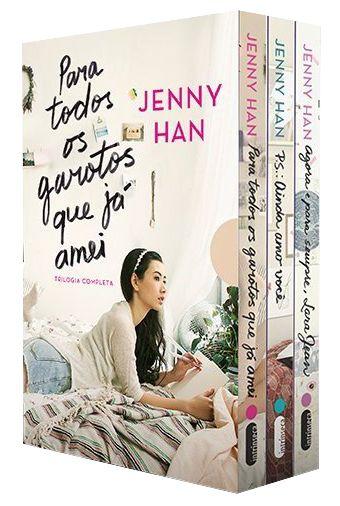 Editora Intrínseca lançará em Setembro o Box Trilogia Para todos os garotos que já amei, de Jenny Han - Cantinho da Leitura