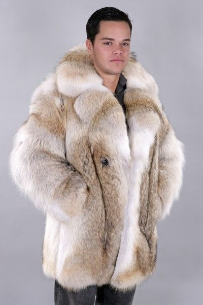 Mens Coyote Fur Coat Ebay >> Leather Fur Jackets For Men Clothing Stores Online