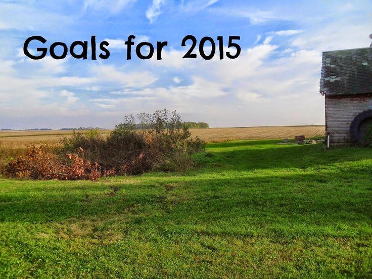Living Life in Rural Iowa: July 2015 Goals Update