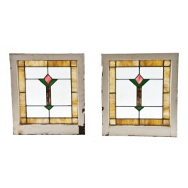 All original matching set of c 1920 39 s american arts for 1920s window styles