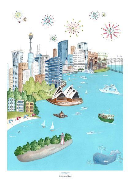 Sydney di AriLand su DaWanda.com