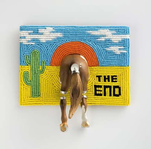 Brooch The end, 2011.  Felieke Van Der Leest.