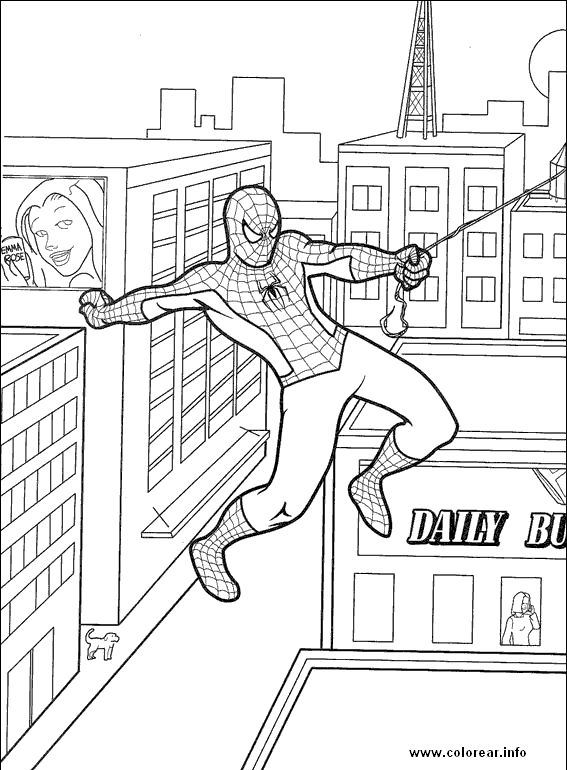 spider man coloring pages printable spiderman mask page free - Coloring Pages Spiderman Printable