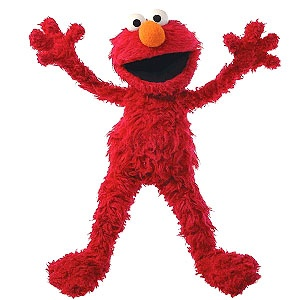 I just have to admit it... I love ELMO!! LOL