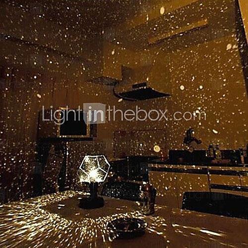 Hochzeitsdekor diy romantischen Sternenhimmel Galaxie Projektor-Nachtlicht (2xAA / usb) - EUR €9.49