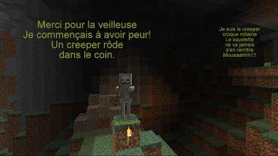 Orphea2012 Youtube et Minecraft: Minecraft en BD | Le creeper Croque Mitaine et le ...