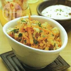 Dal with cauliflower and carrots @ allrecipes.co.uk