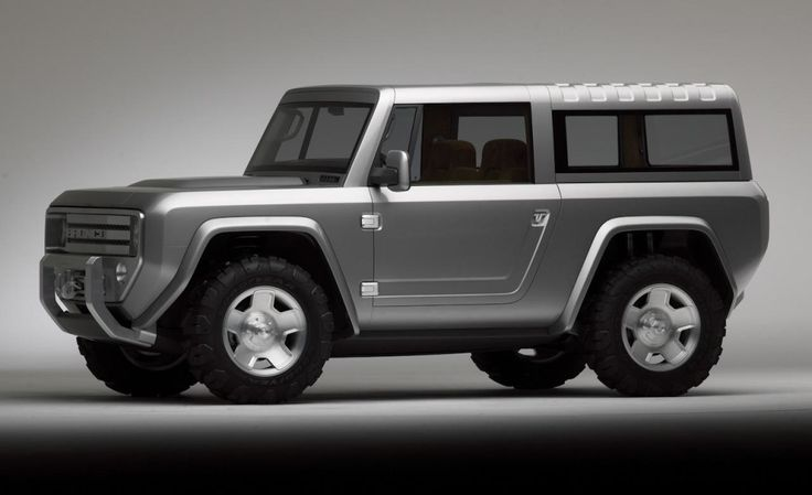 2004 Ford Bronco Concept Left Side View - Photo 6 of 15