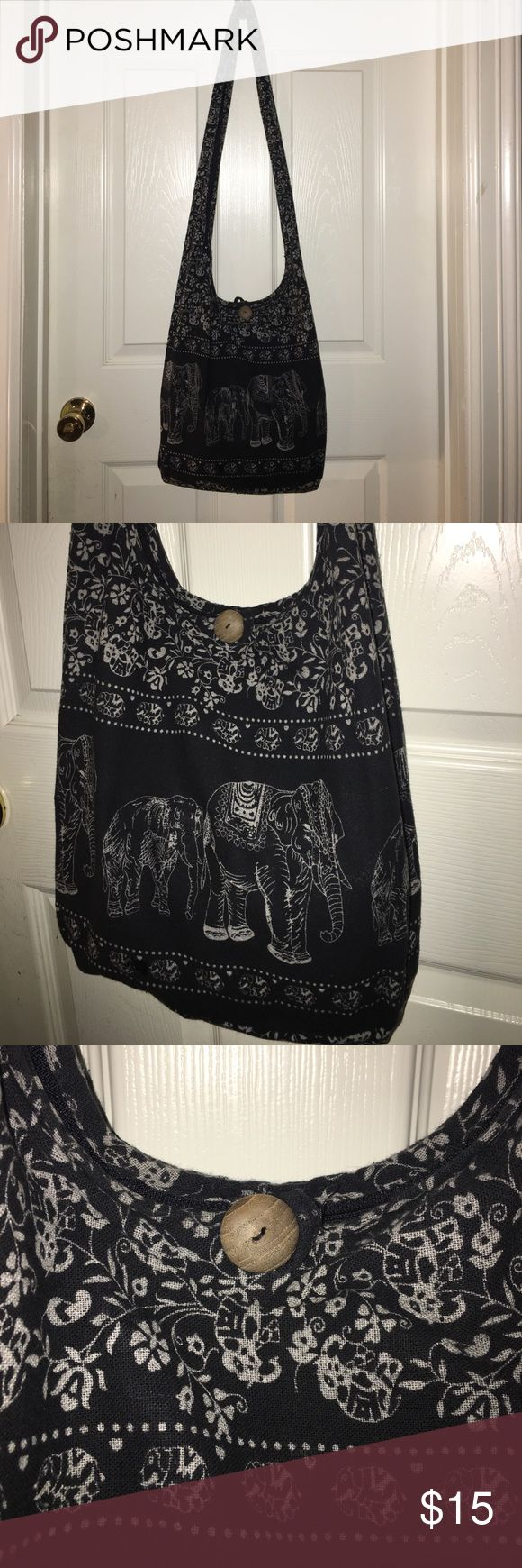 Boho Hobo Crossbody Bag 15x12-Excellent Condition-Super Cute and Very Clean. Used Once for trip. Bags Hobos