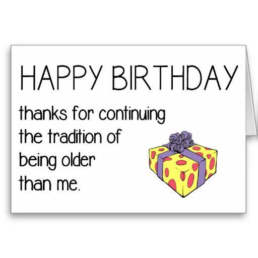 Funny Birthday Quotes On Facebook: 25+ Best Funny Happy Birthdays Ideas On Pinterest