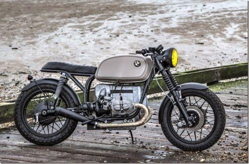 1978 BMW R100 Odyssey Brat Style #motorcycles #bratstyle #motos | caferacerpasion.com