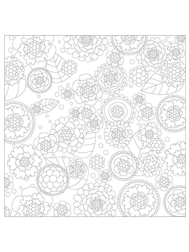 vivaldi four seasons coloring pages | Omalovánky pro dospělé | i-creative.cz - Kreativní online ...