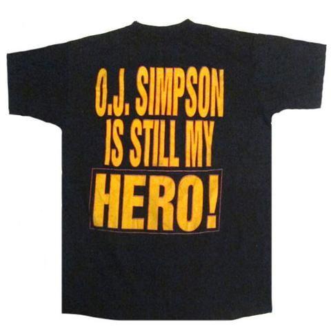 Vintage OJ Simpson Is Still My Hero T-shirt