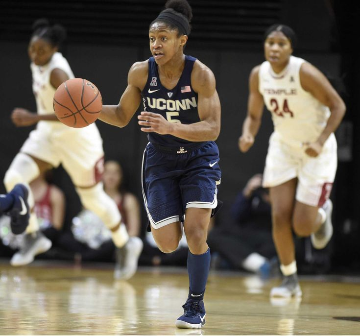 MEMPHIS, Tenn. — Crystal Dangerfield, the first Tennessee native to suit up for Geno Auriemma's UConn Huskies, figures to have a little extra bounce in her step during her first college game in the Volunteer State.  Dangerfield expects more than a few family members and friends to make their way to Roane Fieldhouse when the top-ranked Huskies (18-0, 7-0 AAC) play at Memphis (7-12, 2-4) on Wednesday (1 p.m., SNY).