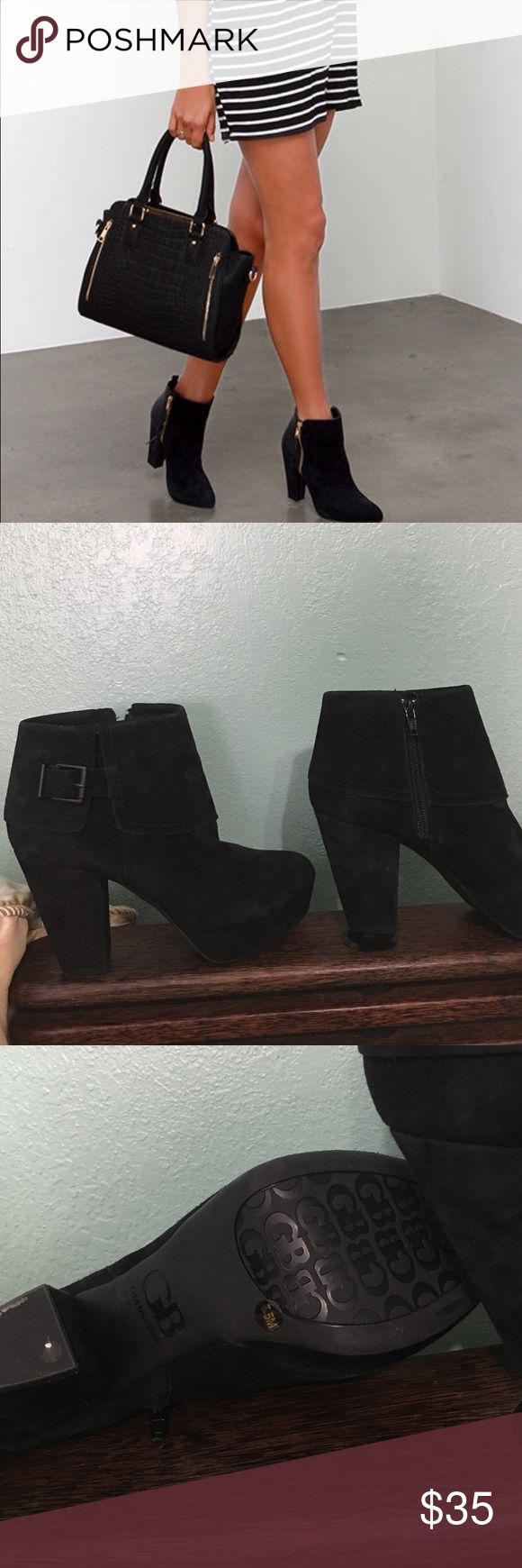 GIANNI BINI Sz 7.5 Gianni Bini Shoes Ankle Boots & Booties