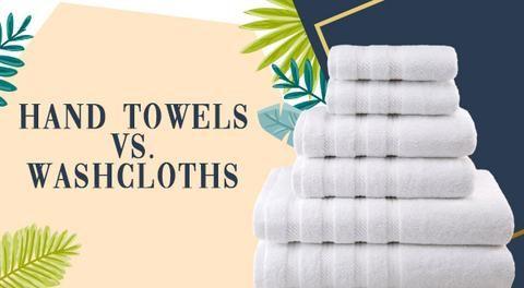 Hand Towels Vs Washcloths Towel Washing Clothes Bath Towels