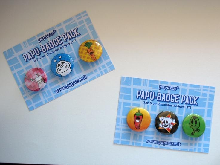 ...now i pin my papu-pins (or papu-badge)...