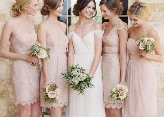 Mix&Match: 46 сочетаний платьев подружек невесты - The-wedding.ru