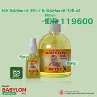 Paket Babylon Oil Minyak Telon 30 ml dan 430 ml