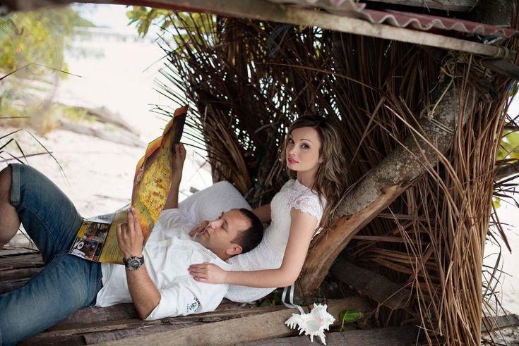 Медовый месяц на острове Самуи. Фотосессия в тропическом стиле