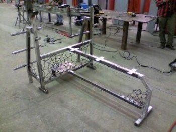 Welding Projects Ideas Weight Bench Metal Art