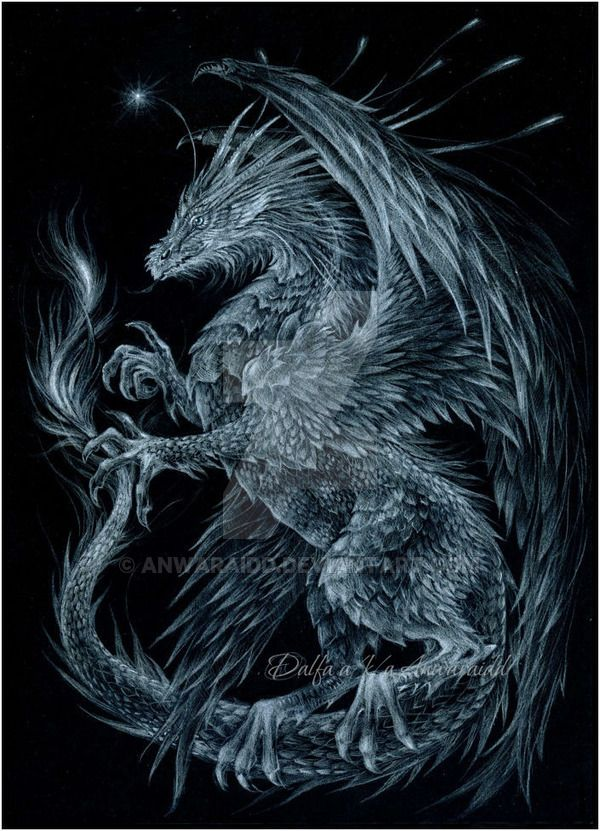 627 best FANTASY SCETCHES images on Pinterest White pencil - best of coloring pages of ice dragons