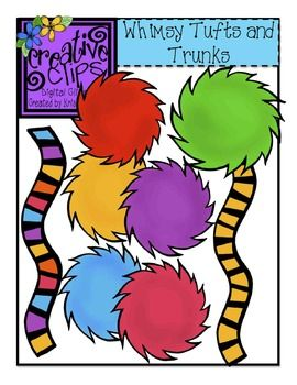 FREE CLIPART! This bundle of tufts and trunks is free in my