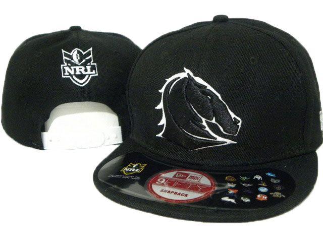 NRL Brisbane Broncos  Hat Cap Black 0064