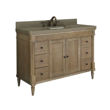 "Rustic Chic 48"" Bathroom Vanity"