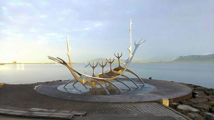 Reykjavik iceland the sun voyager