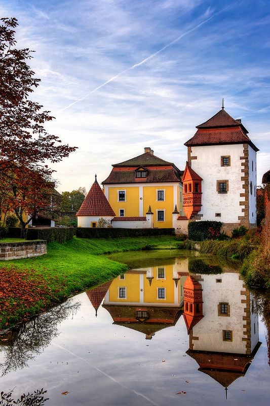 Diessfurt Castle, Bavaria, Germany