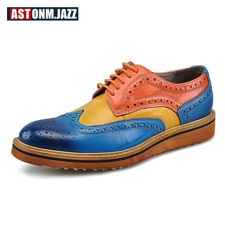 Hommes Chaussures PU Printemps Automne Formelle Chaussures Oxfords Lace-up pour Bureau & Carrière Party & Soirée Blanc Noir Vert (Color : C, Taille : 42)