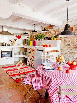 ESTILO RUSTICO: Cocinas Rusticas