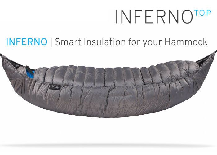 Winter Camping Hammock Insulators - The 'INFERNO' Cocoon Hammock Insulator Ensures Consistent Warmth