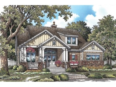 Full of Great Details for Everyday Living (HWBDO75904) | Craftsman House Plan from BuilderHousePlans.com