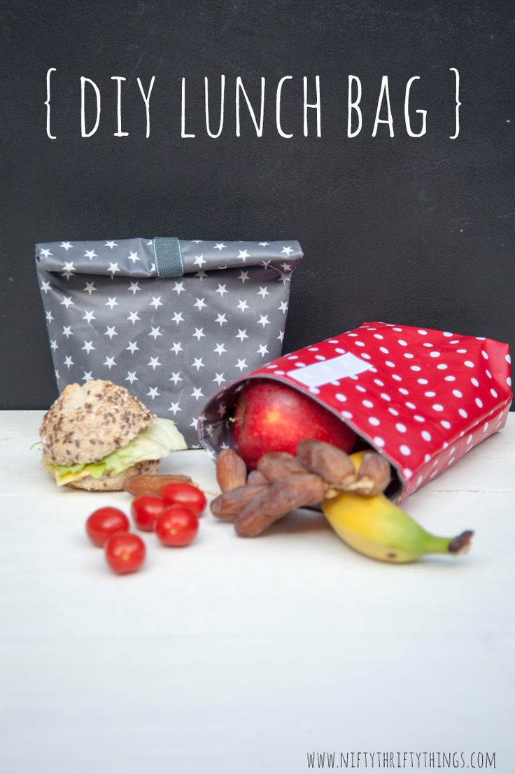 Free Tutorial: DIY Lunch Bag | {nifty thrifty things}