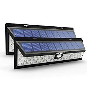 54 LED Security Garden Solar light , Mpow Solar Wall Lights Outdoor Waterproof Solar Power Lights with 120 Degree Wide Angle Motion Sensor Solar for Garden, Patio, Path Lighting (Pack of 2): Amazon.co.uk: Garden & Outdoors