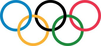 Olympic rings , different regions united at one place.