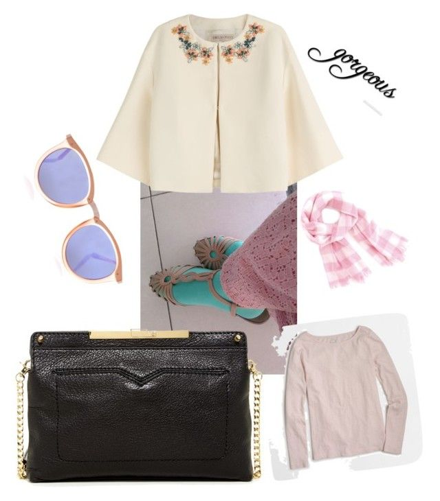 """Ma style"" by leelin on Polyvore featuring Emilio Pucci, Botkier, Le Specs and J.Crew"