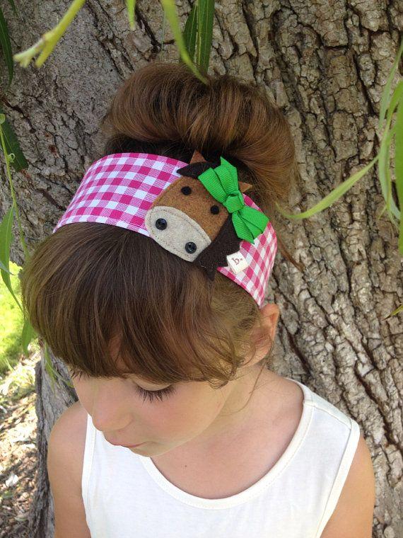 Little Horse: Fabric Headband