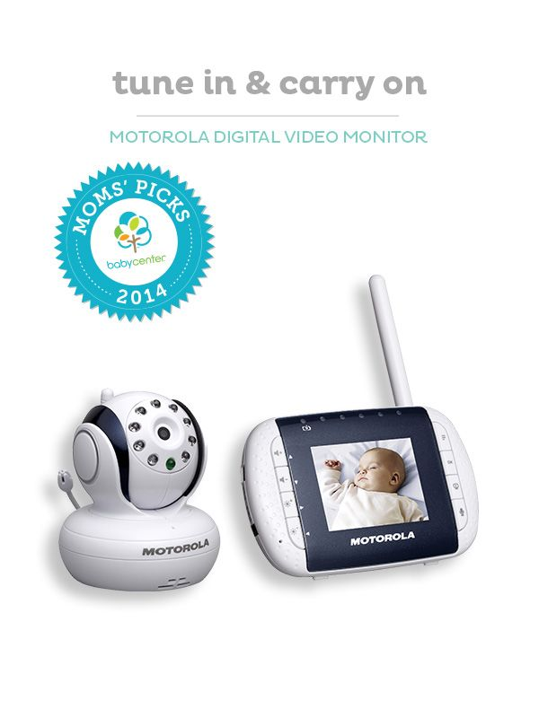 The Motorola digital baby monitor is a BabyCenter (and Moms) 2014 Top Pick.
