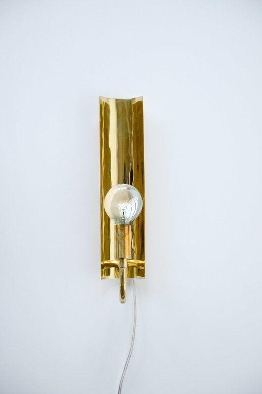 Cadena Brass 1-Light Plug-In Armed Scone